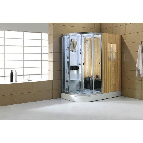 sauna moit sec et moit humide sauna sec et hammam tout en un web de l 39 hydromassage. Black Bedroom Furniture Sets. Home Design Ideas