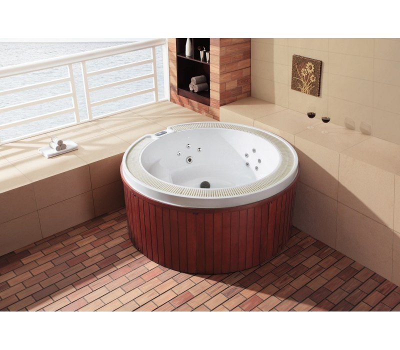 Spa jacuzzi d 39 ext rieur as 005 for Spa jacuzzi exterieur