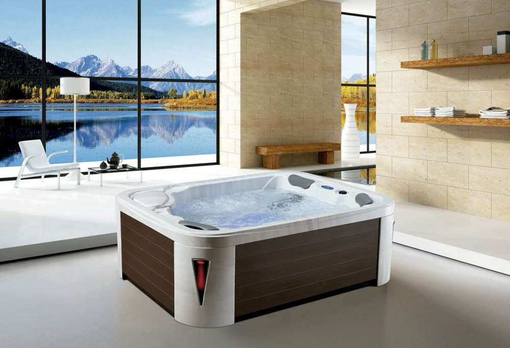 spa jacuzzi d 39 ext rieur av 007. Black Bedroom Furniture Sets. Home Design Ideas