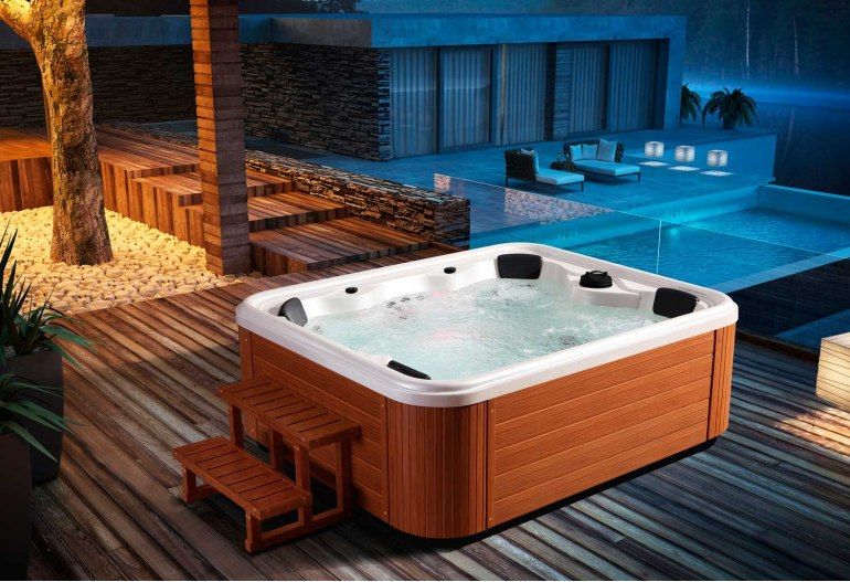 spa jacuzzi d 39 ext rieur aut 002. Black Bedroom Furniture Sets. Home Design Ideas