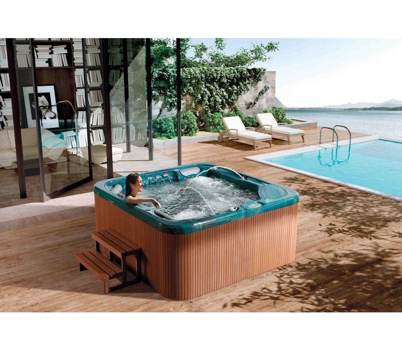Spa jacuzzi d 39 ext rieur at 012 for Spa jacuzzi exterieur
