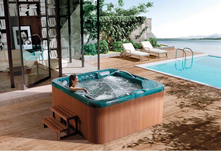 spa jacuzzi d 39 ext rieur at 012. Black Bedroom Furniture Sets. Home Design Ideas