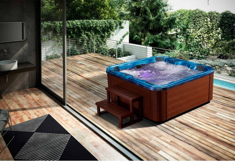 spa jacuzzi d 39 ext rieur aut 001. Black Bedroom Furniture Sets. Home Design Ideas